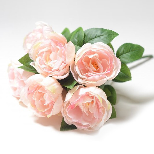 Букет пионов Энбанк – розовый комби - Фото 1 | Компания «Венок»