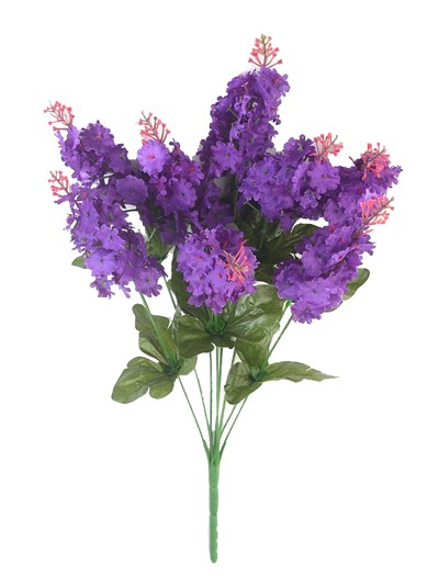 Букет сирени Элит – фиолетовый - Фото 1   Компания «Венок»