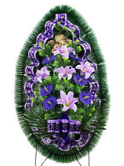 Ритуальный венок Луиза - Фото 1 | Компания «Венок»