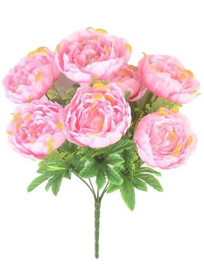 Букет пиона Пайс 7 голов – нежно-розовый - Фото 1 | Компания «Венок»