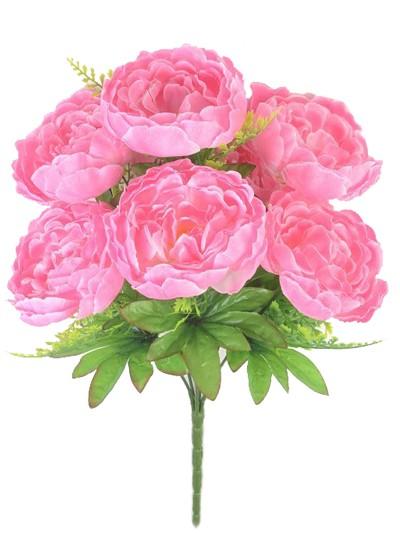 Букет пиона Пайс 7 голов – розовый - Фото 1 | Компания «Венок»