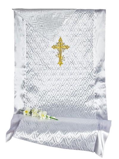 Комплект СТЕЖКА с вышивкой КРЕСТ - Фото 1 | Компания «Венок»