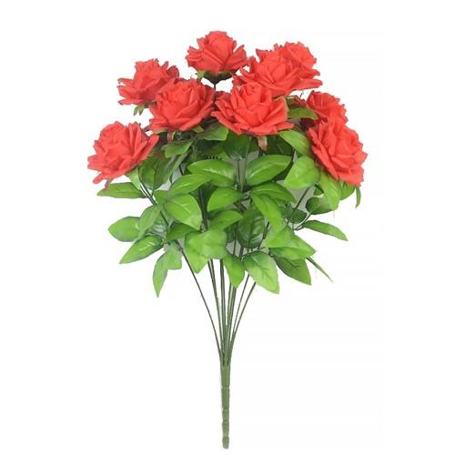 Букет роз Чатхилл 10 голов – красный - Фото 1 | Компания «Венок»