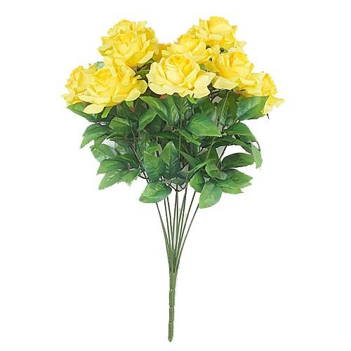 Букет роз Чатхилл 10 голов – желтый - Фото 1 | Компания «Венок»