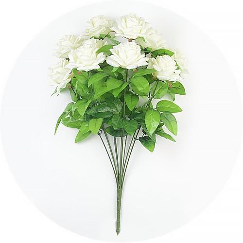 Букет роз Чатхилл 10 голов – белый - Фото 1   Компания «Венок»