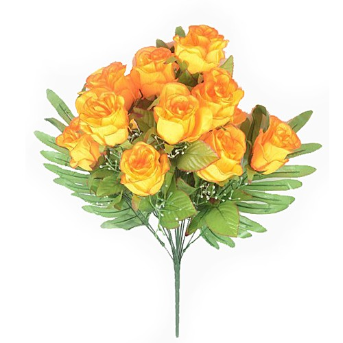 Букет бутонов роз ХЕЙДОК 12 голов – желтый - Фото 1 | Компания «Венок»