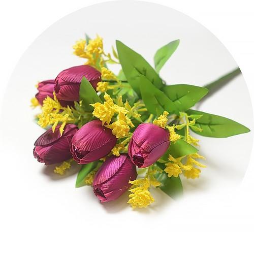 Букет тюльпанов Хундон – фиолетовый - Фото 1 | Компания «Венок»