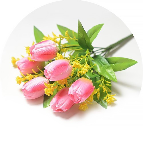 Букет тюльпанов Хундон – розовый - Фото 1 | Компания «Венок»