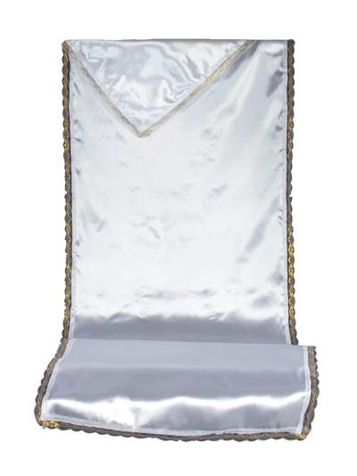 Комплект в гроб АТЛАС без символики (серебро и золото) - Фото 1 | Компания «Венок»